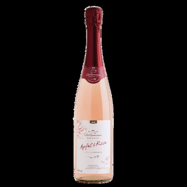 Bio Apfeltischperlwein Apfel & Rose, 0,75 l, Alk. 9 % vol.
