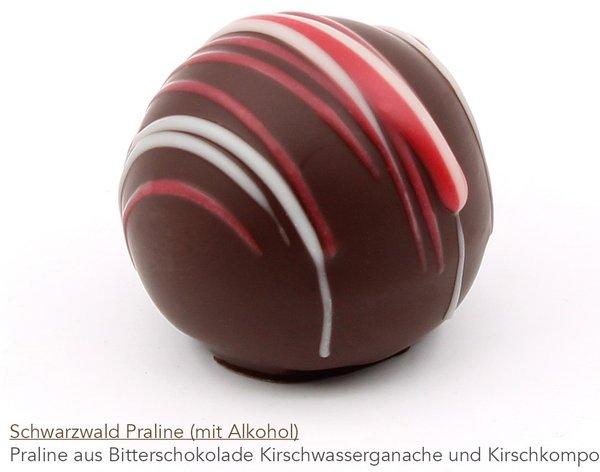 Schwarzwald Praline mit Alkohol