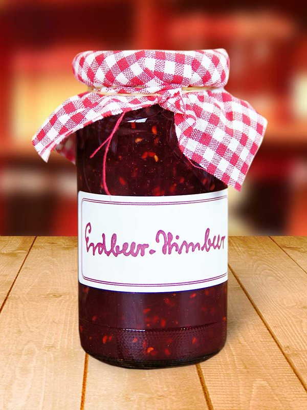Erdbeer-Himbeer Konfitüre, 250 g