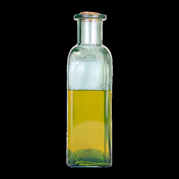 Basilikum-Öl auf Pflanzenölbasis