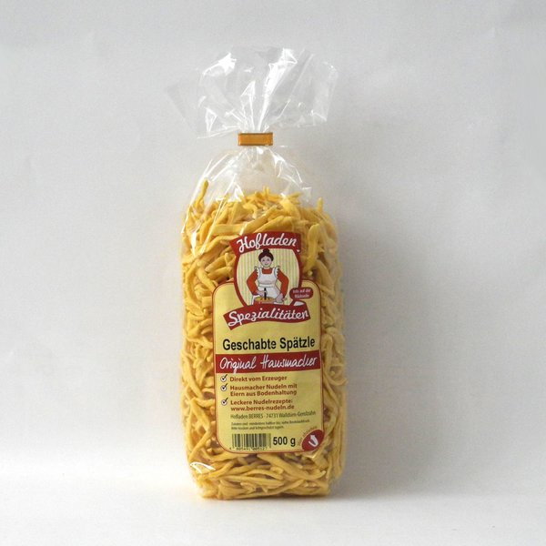 Geschabte Spätzle, 500 g