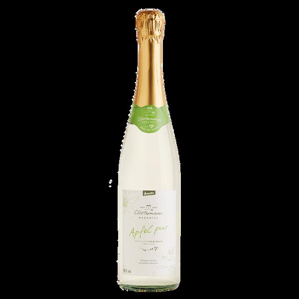 Bio Apfeltischperlwein trocken, 0,75 l, Alk. 9% vol.